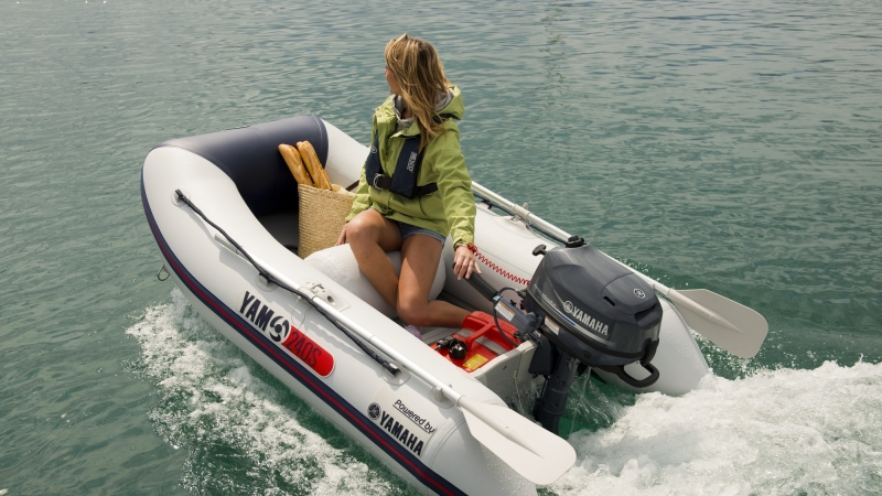 F4B 4HP Outboard