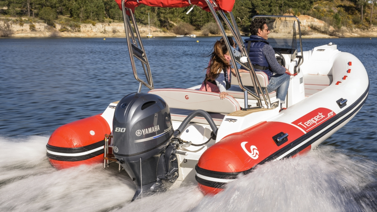 F80D 80HP Outboard